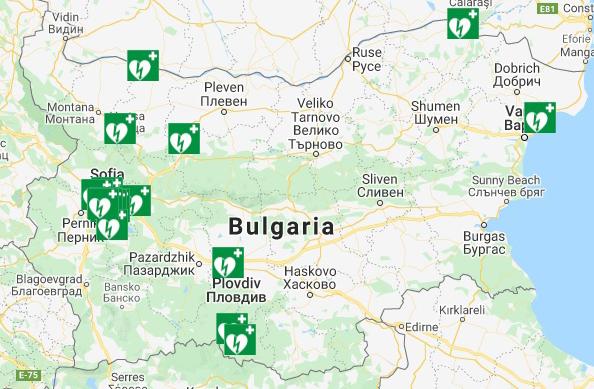 карта България