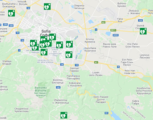 Карта София